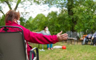 Ergotherapie mit Sitzgymnastik in Marienbrunn