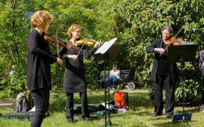 Das Gewandhausorchester in Marienbrunn