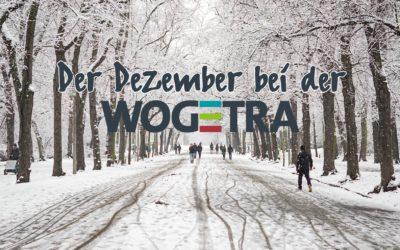 Dezember 2020: Neuigkeiten von der WOGETRA