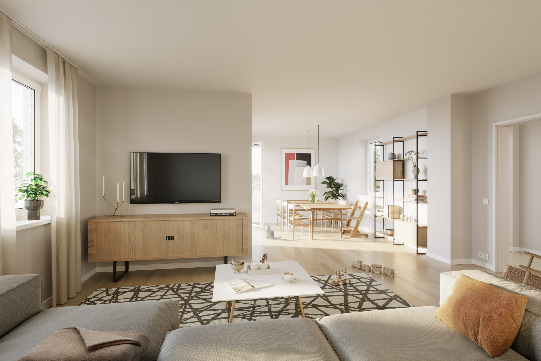 3-Raum-Wohnung im Nordquartier der WOGETRA